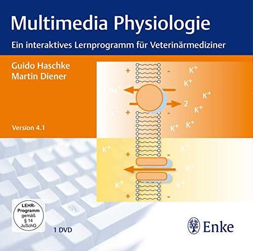 Multimedia Physiologie 4.1, 1 DVD-ROM Ein interaktives Lernprogramm für Veterinärmediziner. Für WindowsXP (ab Service Pack 2 oder höher), Vista oder 7