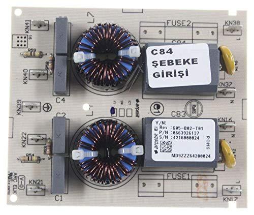 Original BEKO 663926137 Induktionskochfeld für Elektroherde