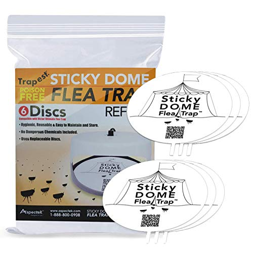 ASPECTEK Flea Trap Replacements Glu…