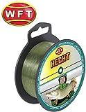 WFT Zielfisch Hecht 250m 0,40mm 12,5kg grün - Angelschnur zum Hechtangeln, Monofile Schnur für...
