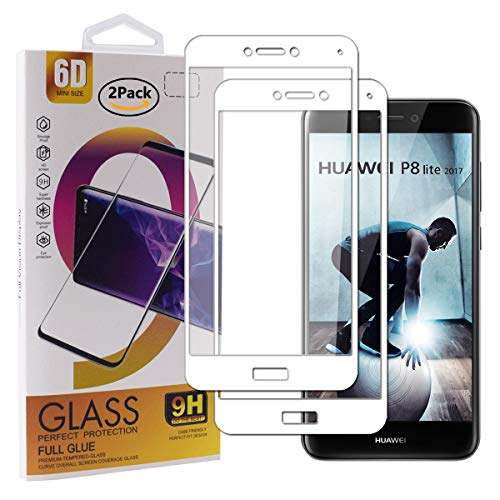 Guran - Protector de Pantalla de Vidrio Templado para Smartphone Full Coverage HD