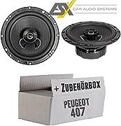 Autotek a 62 CX 16,5 cm coaxial auto altavoces Speakers 400 vatios boxeo Carhifi