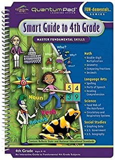 Quantum Pad Library: Smart Guide to Fourth Grade LeapPad Book