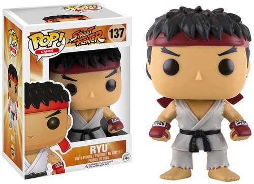 Funko Street Fighter Ryu Pop Gam...