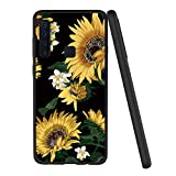 Yoedge Samsung Galaxy A9 2018 Case, Black Silicone with