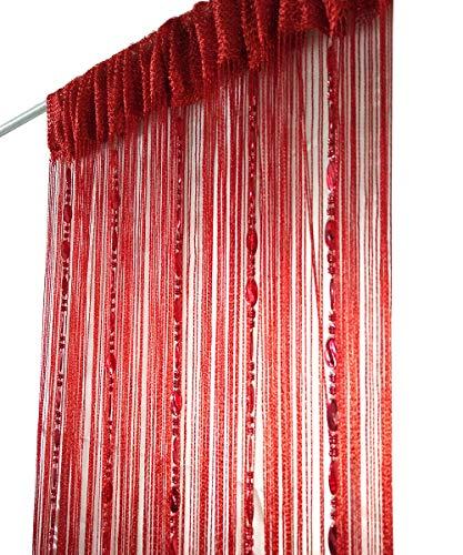 ave split Decorative Door String Curtain Beads