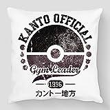 Pokémon-Cojín, diseño de campeón de circo romano-Kanto Official Gym Kanto Leader-Factory
