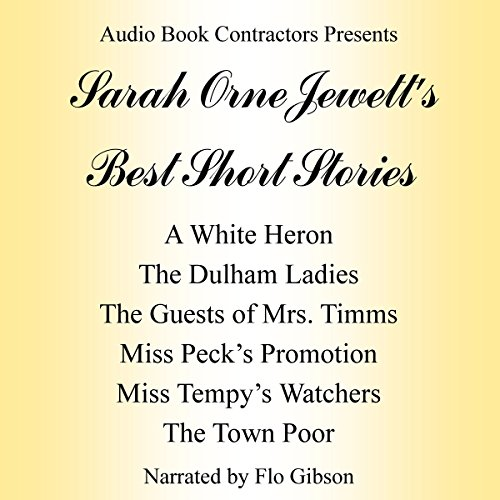 Sarah Orne Jewett's Best Short Stories audiobook cover art