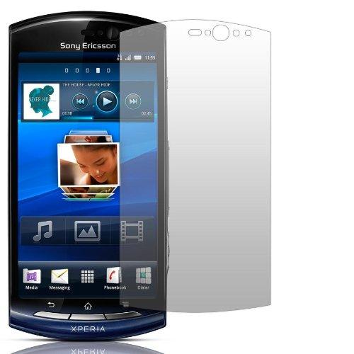 Slabo 2 x Bildschirmschutzfolie kompatibel mit Sony Ericsson Xperia NEO V | Xperia NEO Bildschirmschutz Schutzfolie Folie Crystal Clear unsichtbar NEO 5 Made IN Germany