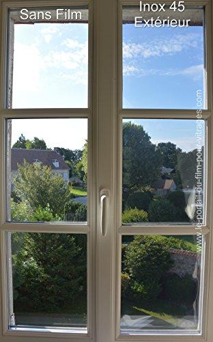 Film Solaire extérieur : efficace et lumineux - 110cm x 152cm