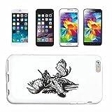 Reifen-Markt Hard Cover - Funda para teléfono móvil Compatible con Samsung Galaxy S6 Hunter en Hirsch Caza Salvaje Grande JABALÍ REH