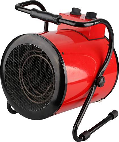 Primaster Heizlüfter 3 kW Bauheizer Elektroheizung Elektro Heizgerät Heizkanone