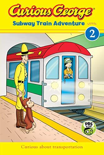 Curious George Subway Train Adventure (CGTV Reader) (English Edition)