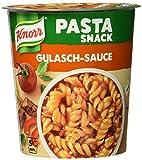 Knorr Pasta Snack Gulasch-Sauce mit leckeren Nudeln, 1 Portion, 60 g -