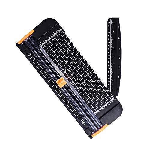 ペーパーカッター ミニ裁断機 紙裁断機 B4 A4 B5 A5 B6 B7 サイズ対応 10枚裁断 310X100mm ポータブル 携帯便利 軽量 仕事 業務用 JPW049