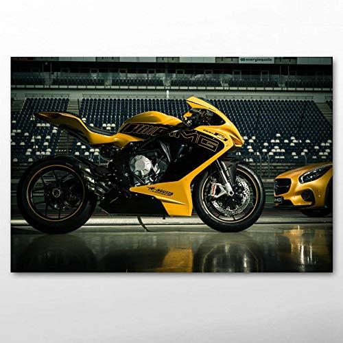 Motocicleta Motocicleta Modelo Hot Girl_Puzzle Adulto 1000 Piezas_Regalos para Fiesta de cumpleaños Infantil_50x75cm