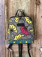 Idea de regalo:mochila de telas Africanas para un efecto etnico : regalo para ella