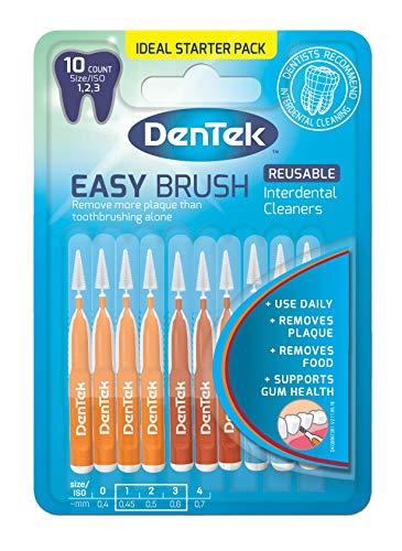 DenTek Easy Brush Interdentalbürsten, verschiedene Größen, 10 Stück