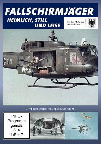 Fallschirmjäger - heimlich, still und leise - Bundeswehr, DVD