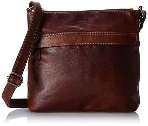 Voyager Zippered Crossbody Hobo Bag #7832