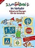 LernSpielZwerge Übungshefte: Im Verkehr - Rätsel und Übungen für die