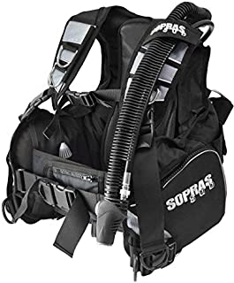 Sopras Sub SILVER 3000 Scuba Diving BCD Weight Integrated Dive BC Size Small