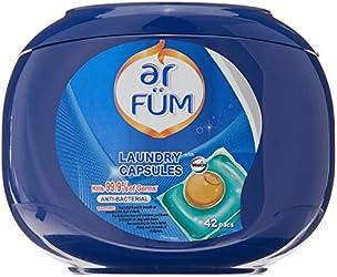 Seika ar FUM Laundry Capsules, Antibacterial, 42 count