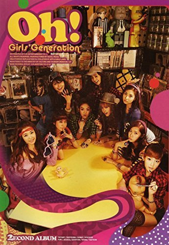 SM Entertainment SNSD Girls' Generation - Oh! (2nd Album) CD + Photo Booklet