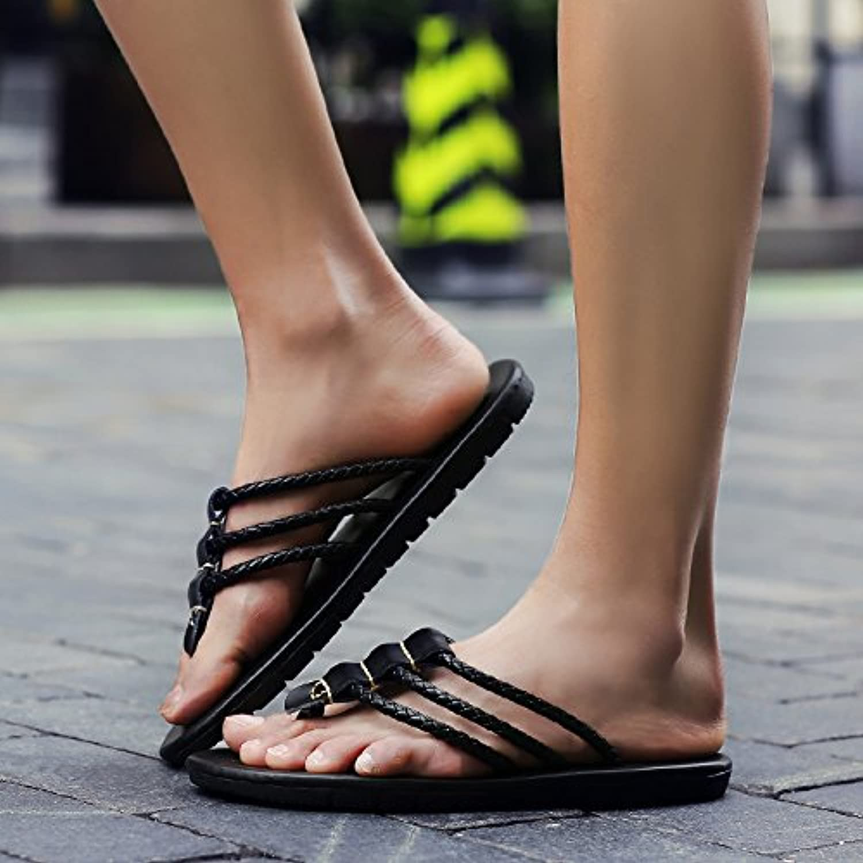@Sandals Summer Slippers, Men'S Beach shoes, Flip Flops, Fashion Wear
