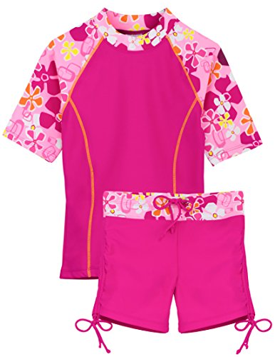Tuga Girls Two-Piece Bathing Suit 2-14 Years, UPF 50+ Sun Protection Swim Suit