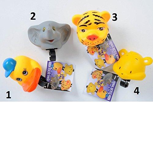 Klaxon sonnette animal velo enfant Souple - Tigre Modele 3 - 524