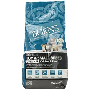 Customer reviews Burns Dog Food Pet Nutrition Adult Small/Toy Breed 2kg