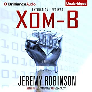 Xom-B audiobook cover art