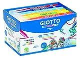 Giotto 494700 - Pack 48 rotuladores decorativos para tejidos