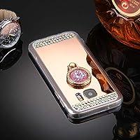 携帯電話保護ソフトケース OPPOリノファントムTPU メッキ保護ケースのために (色 : 紫の)