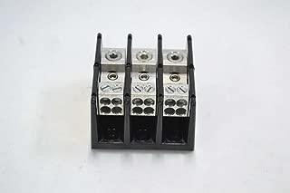 BUSS 16220-3 3P POLE POWER DISTRIBUTION BLOCK TERMINAL 600V-AC 175A AMP B346591