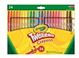 Crayola 24 Twistable Crayons 24 pieza(s) - Ceras (24 pieza(s), Multi, Multicolor, Alrededor, Cera, 6 mm) , color/modelo surtido