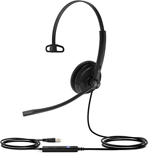 new arrival HWUSA Yealink UH34 Mono Lite Teams USB-A high quality Wired discount Headset outlet sale