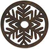 Lenox 880184 Alpine Wooden Snowflake Star Trivet