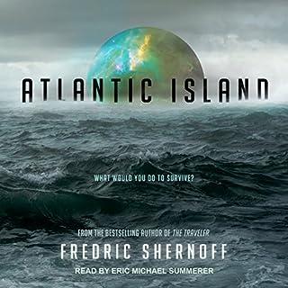 Atlantic Island audiobook cover art