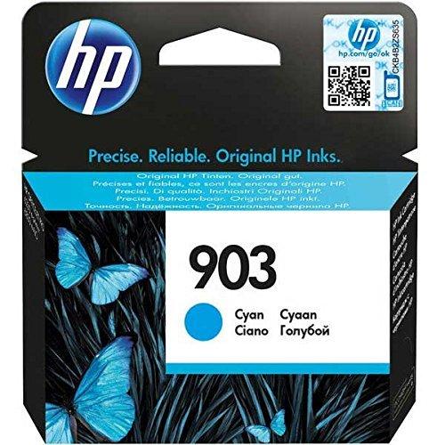 HP 903 cartouche d'encre cyan authentique pour HP OfficeJet Pro 6950/6960/6970 (T6L87AE)
