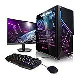 Pack Gaming - PC Intel Core i7 10700F 8x2.90GHz • GeForce RTX3070 8GB • 500GB M.2 SSD • 2000GB HDD • 16GB 3200 MHz RAM • 24' Full-HD • Teclado y ratón Gaming • WLAN • Windows 10 • PC Gamer