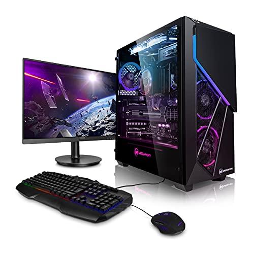 Megaport Super Méga Pack Striker - PC Gamer Complet AMD Ryzen 3700X 8X 4.40 GHz • nvidia GeForce RTX2060 Super 8Go • Ecran 24' • Clavier + Souris • 16Go • 480Go SSD • 1To • Windows 10 • WiFi