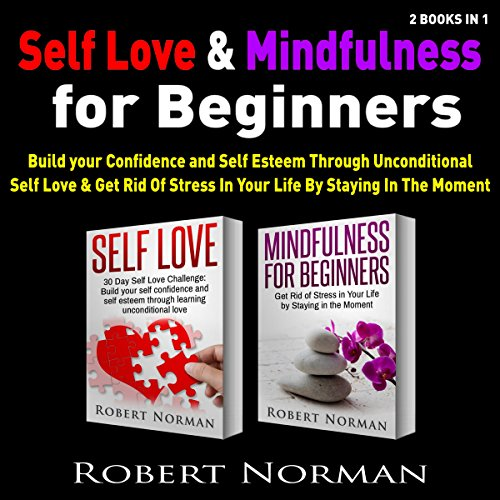 Self Love & Mindfulness for Beginners, 2 Books in 1 cover art