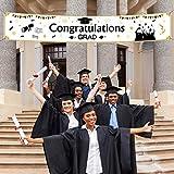 TUPARKA Banner de Graduación ,Decoración de Fiesta de Graduación 2021, 71 'x 13'