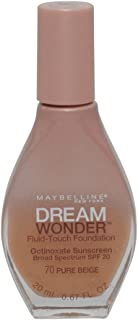 3 Pack- Maybelline Dream Wonder Fluid-Touch Foundation #70 Pure Beige