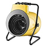 Calentador Xiao Jian-calefactores electricos El Calentador Industrial con la protección del sobrecalentamiento, Sólo trifásico de Corriente alterna se Puede Utilizar, Power hasta 9000W - Amarillo/Ne