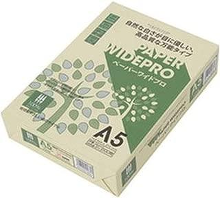 ==まとめ== APP-コピー用紙-ペーパーワイドプロ・A5・1冊-500枚-×10セット-