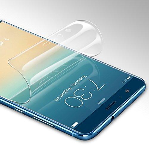 Didisky Pellicola Protettiva per Huawei P10 Lite 2017, Copre Assolutamente Lo Schermo, Non Vetro, Compatibile con la Cover, Trasparente, 2 Pezzi