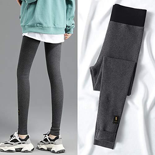 Qianqingkun Legging Women, het dragen van dunne, dikke hoge taille Sweatpants